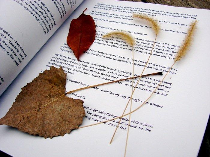 Feel Good Project: Leaf Pressing