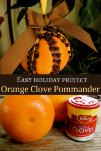 orange clove pommander diy
