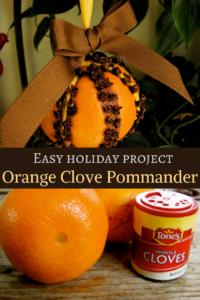 orange clove pommander diy