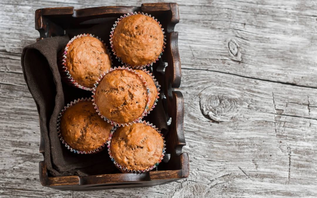 Grandmother's Oatmeal Mincemeat Muffins