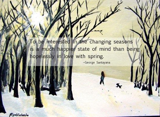 Walk in the Winter Woods by Rigel Celeste