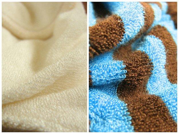 Totsbots bamboo fabric closeup