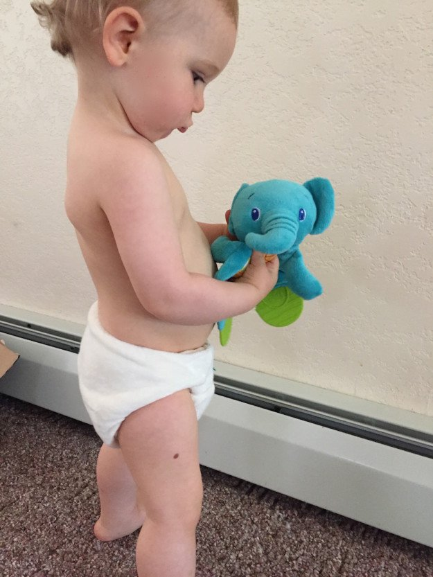 Totsbots Bamboozle fit on a toddler