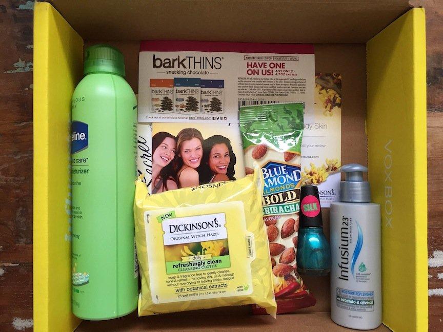 Influenster Sunshine Vox Box Review