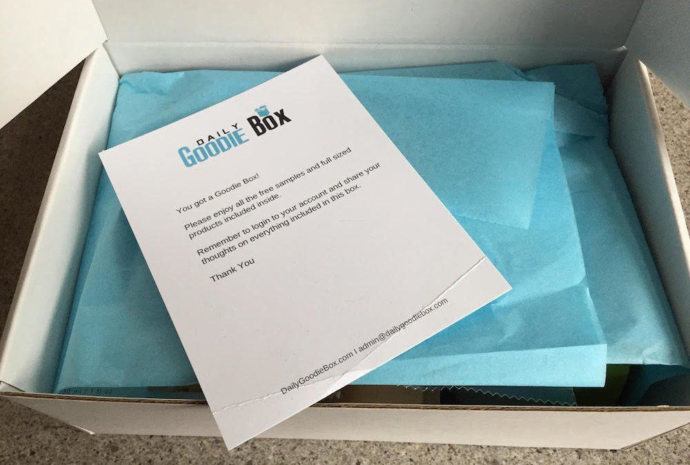 Daily Goodie Box Review — November 2016