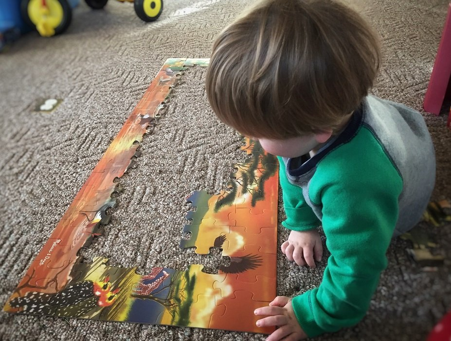 best gifts for 3 year old boy, floor puzzle