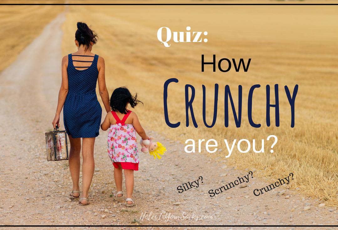 Crunchy mom quiz, Silky mom quiz: Are you silky scrunchy or crunchy?