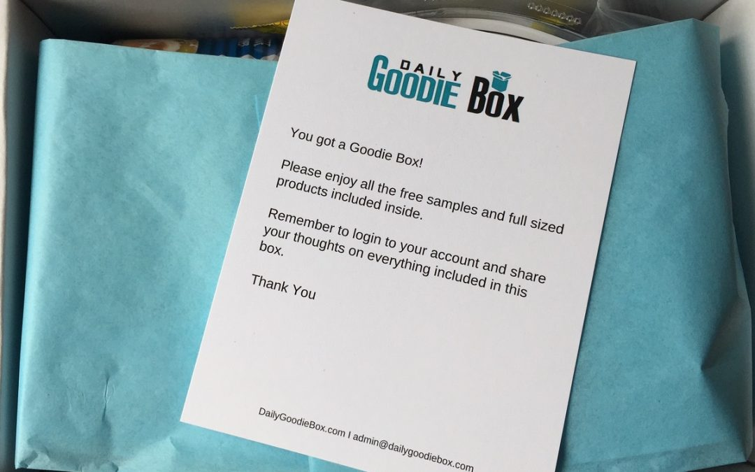 Daily Goodie Box Review: June 2018