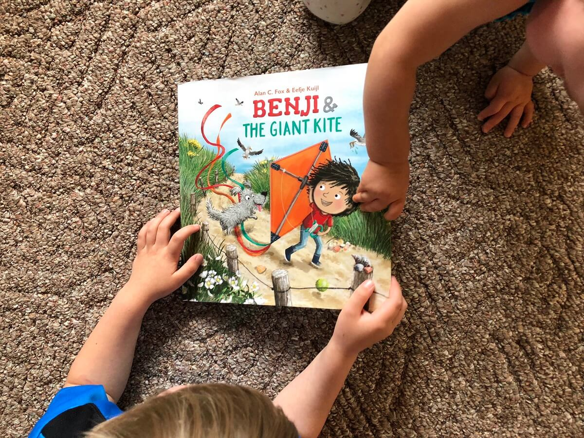 Benju and the Giant Kite children's book giveaway
